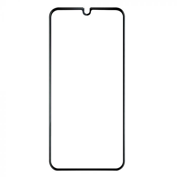 Folie Samsung Galaxy A70 Devia Frame Sticla Temperata Black