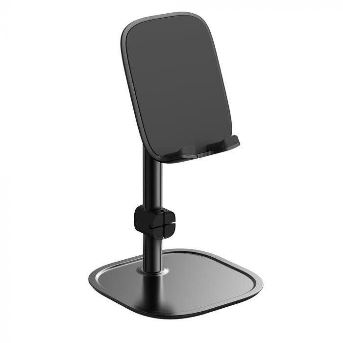 Suport Baseus Literary Desk Metalic Black pentru Telefon & Tableta (3 inch-10.5 inch)