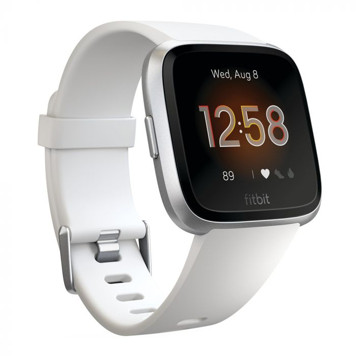 Smartwatch  Fitbit Versa Lite White / Silver Aluminum