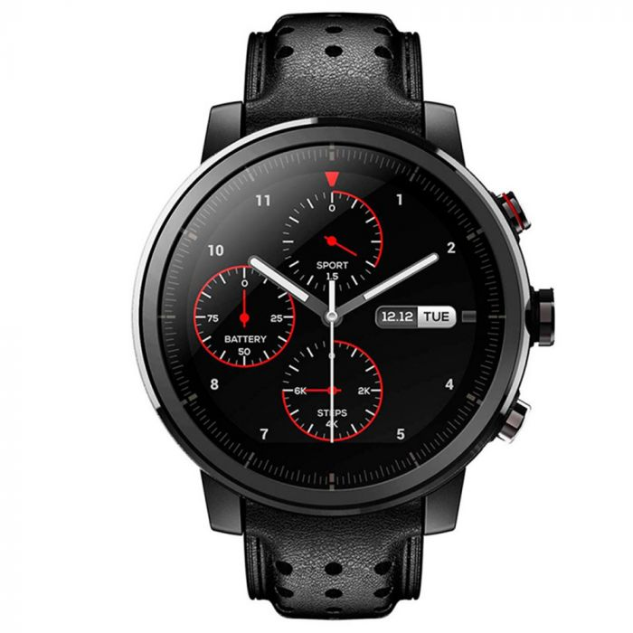 Xiaomi Smartwatch Amazfit Stratos Plus, MultiSp GPS Negru (Bluetooth 4.0)