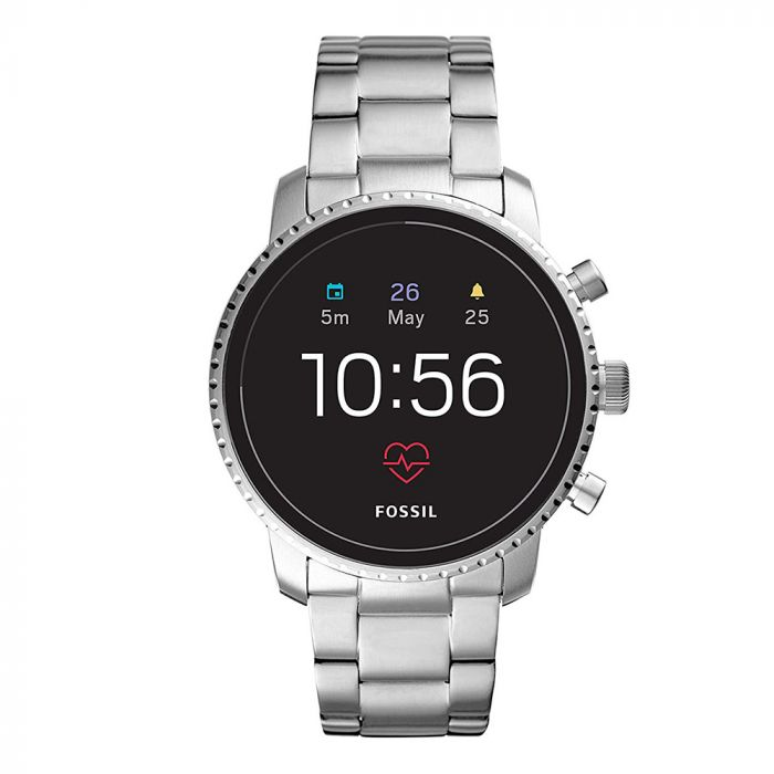 Smartwatch Fossil Q Explorist Gen 4 Silver