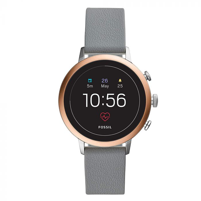 Smartwatch Fossil Q Venture Gen 4 Bicolor (curea silicon)