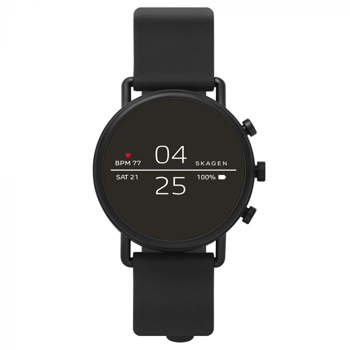 Smartwatch Skagen Falster 2 Black (curea silicon)