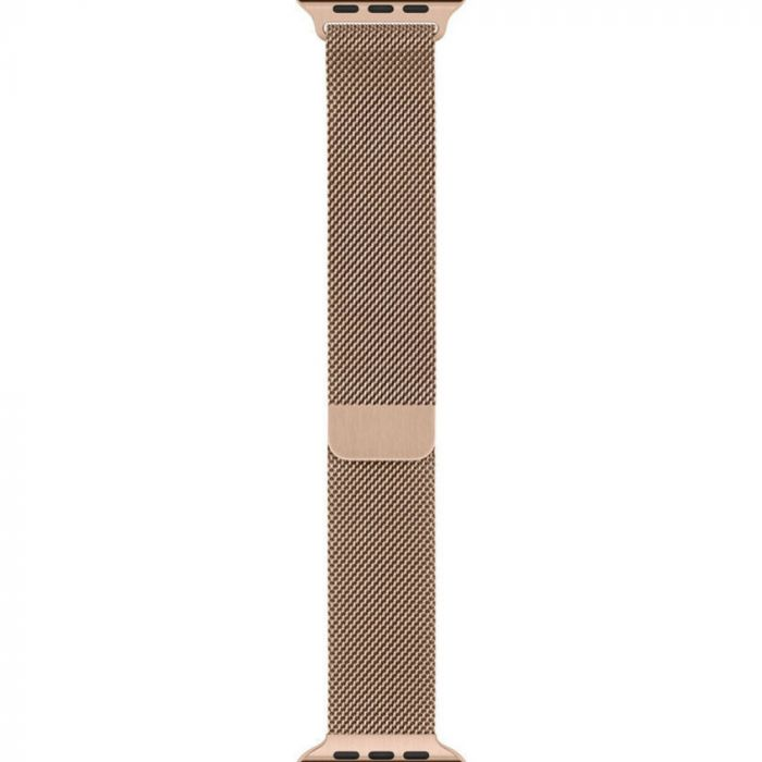 Curea Apple Watch 42 / 44mm Gold Milanese Loop