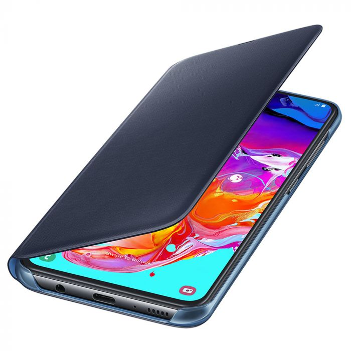 Husa Samsung Galaxy A70 Samsung Book Wallet Cover Black