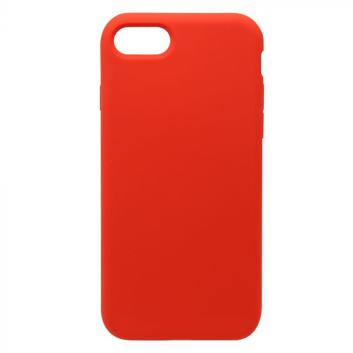Carcasa iPhone 8 / 7 Just Must Defense Liquid Silicone Red