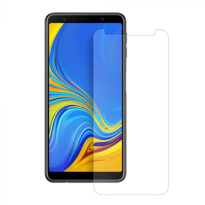 Folie Samsung Galaxy A7 (2018) Eiger Sticla Temperata Clear