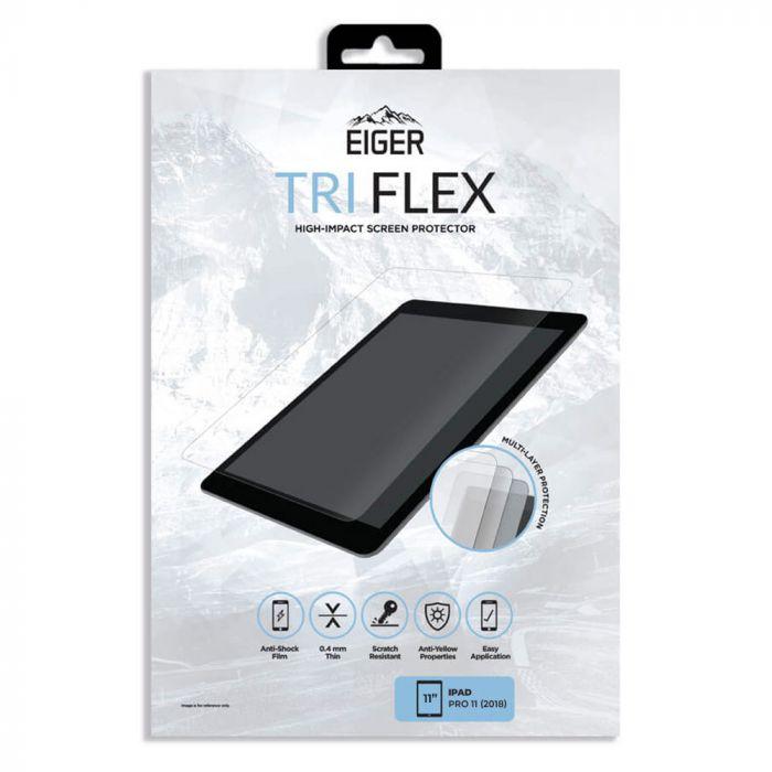 Folie iPad Pro 11 inch Eiger Clear Tri Flex