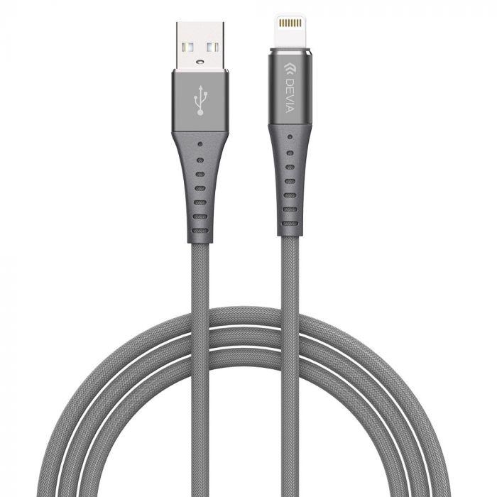 Cablu Lightning Devia Braid Series Silver