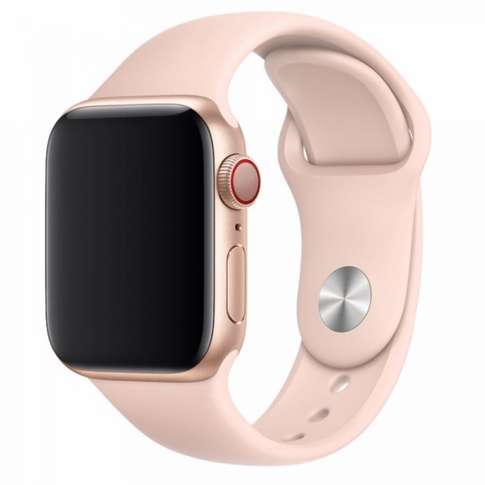 Curea Apple Watch 4 42mm / 44mm Devia Deluxe Series Sport Pink Sand