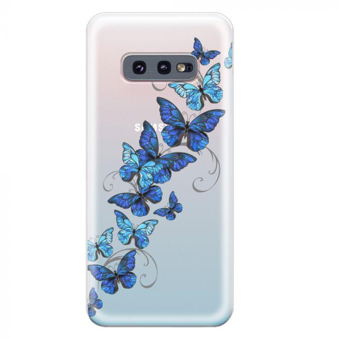 Husa Samsung Galaxy S10e G970 Lemontti Silicon Art Butterflies