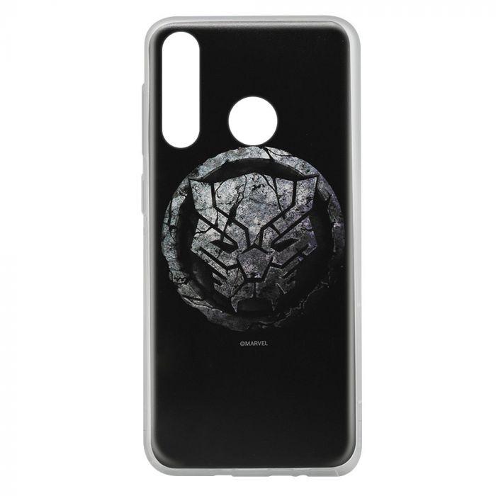 Husa Huawei P30 Lite Marvel Silicon Black Panther 013 Black