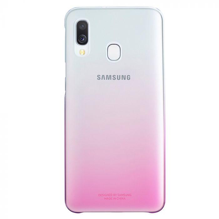 Carcasa Samsung Galaxy A40 Samsung Gradation Cover Pink