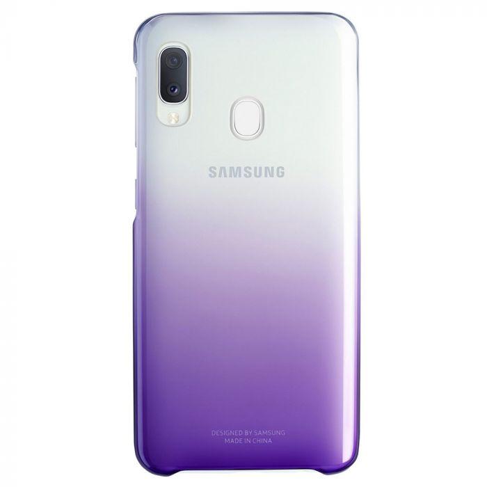 Carcasa Samsung Galaxy A20e Samsung Gradation Cover Violet