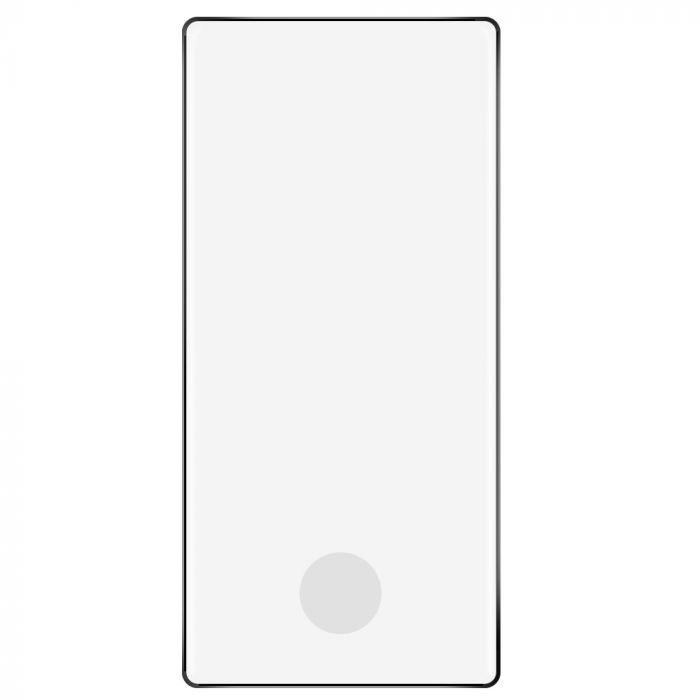 Folie Samsung Galaxy Note 10 Lemontti Sticla Curbata Black