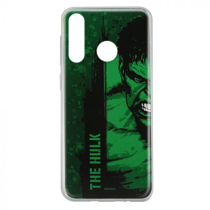 Husa Huawei P30 Lite Marvel Silicon Hulk 001 Green
