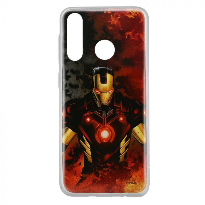 Husa Huawei P30 Lite Marvel Silicon Iron Man 003