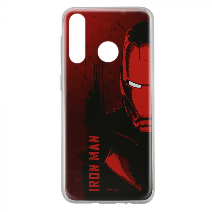 Husa Huawei P30 Lite Marvel Silicon Iron Man 004 Red