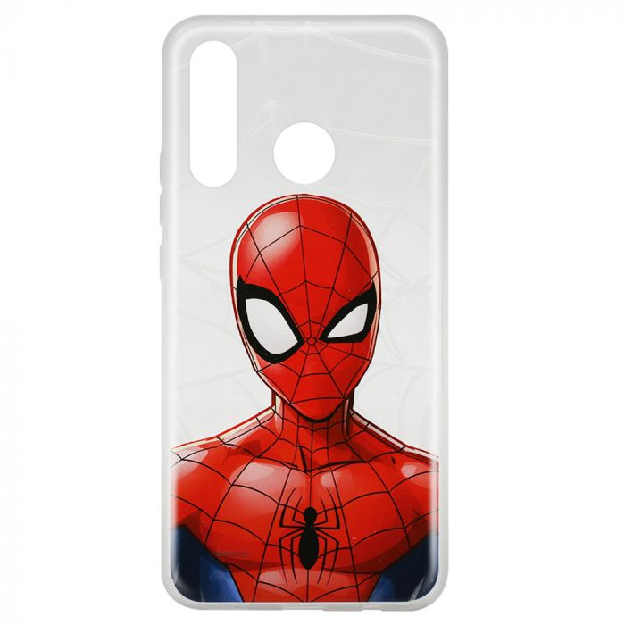 Husa Huawei P30 Lite Marvel Silicon Spider-Man 012 Clear
