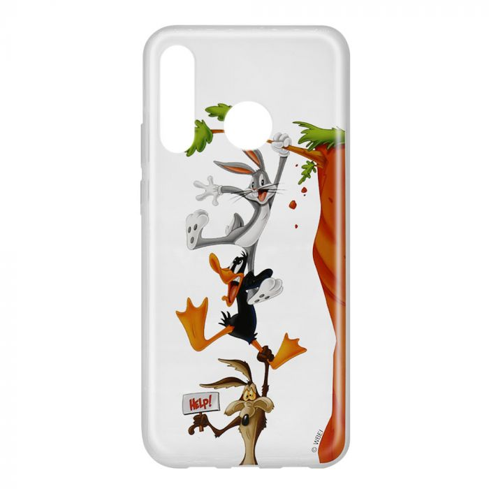 Husa Huawei P30 Lite Looney Tunes Silicon Looney Tunes 005 Clear