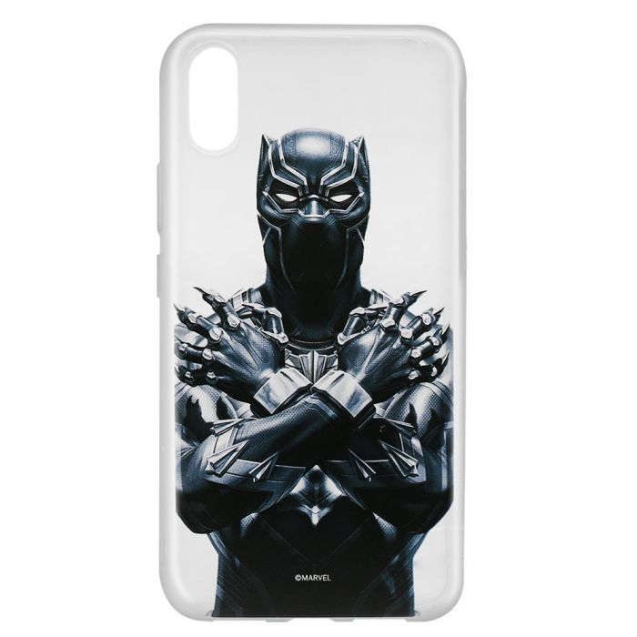 Husa Huawei Y6 2019 Marvel Silicon Black Panther 012 Clear