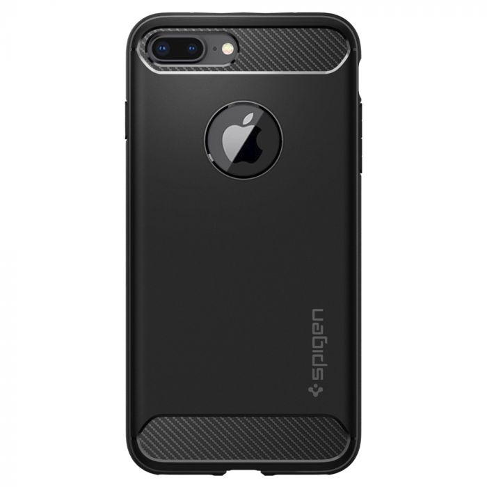 Carcasa iPhone 8 Plus / 7 Plus Spigen Rugged Armor Black