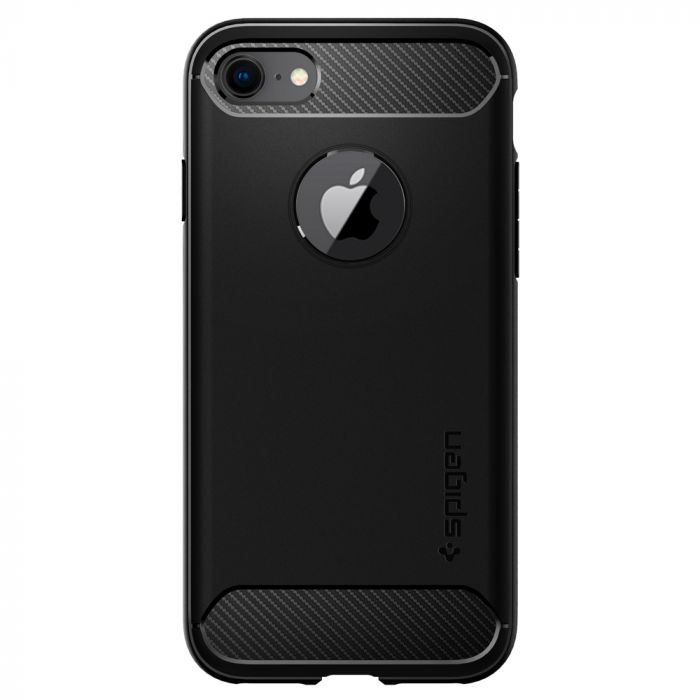 Carcasa iPhone 8 / 7 Spigen Rugged Armor Black