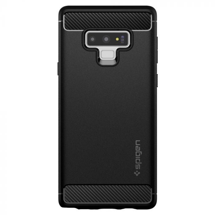 Carcasa Samsung Galaxy Note 9 Spigen Rugged Armor Black