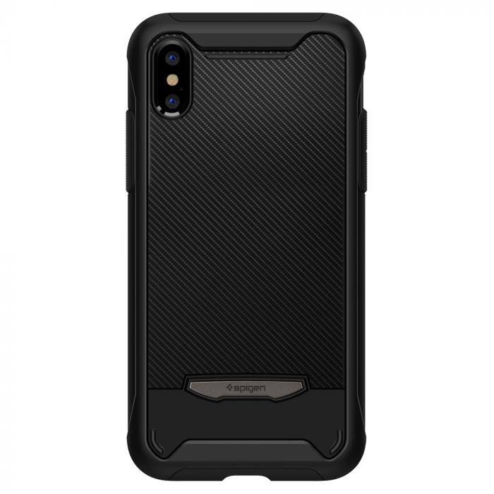 Carcasa iPhone XS Max Spigen Hybrid NX Black
