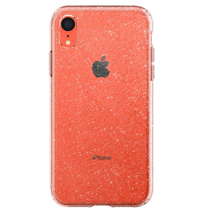 Carcasa iPhone XR Spigen Liquid Crystal Glitter Crystal Quartz
