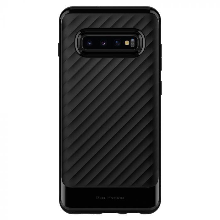 Carcasa Samsung Galaxy S10 G973 Spigen Neo Hybrid Midnight Black