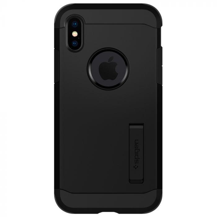 Husa iPhone XS / X Spigen Case Tough Armor XP Black