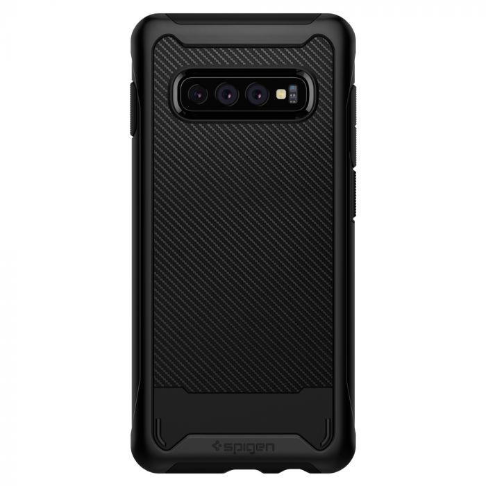 Husa Samsung Galaxy S10 Plus G975 Spigen Hybrid NX Black