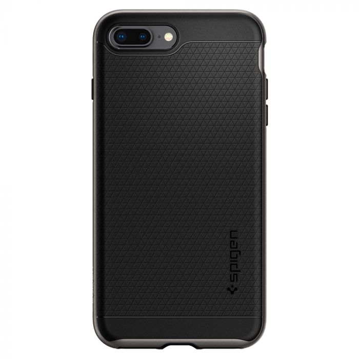 Carcasa iPhone 8 Plus / 7 Plus Spigen Neo Hybrid 2 Gunmetal