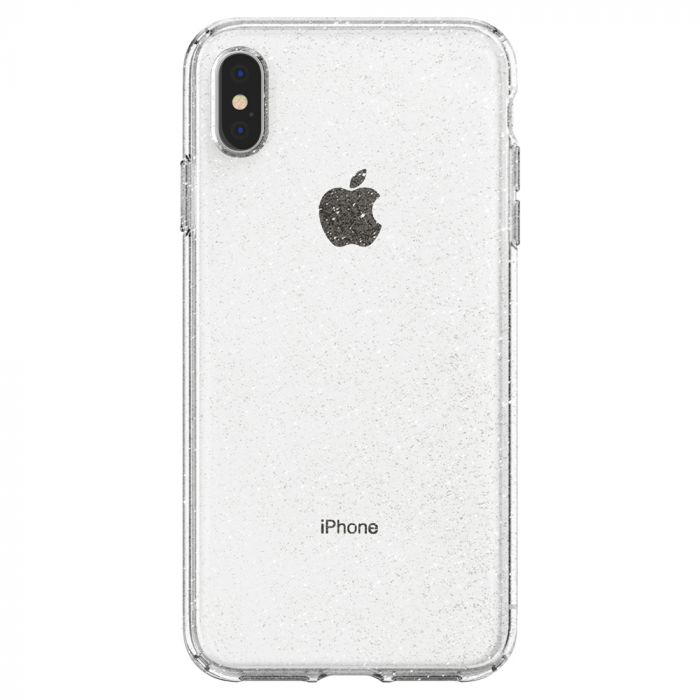 Husa iPhone XS Max Spigen Liquid Crystal Glitter Crystal Quartz