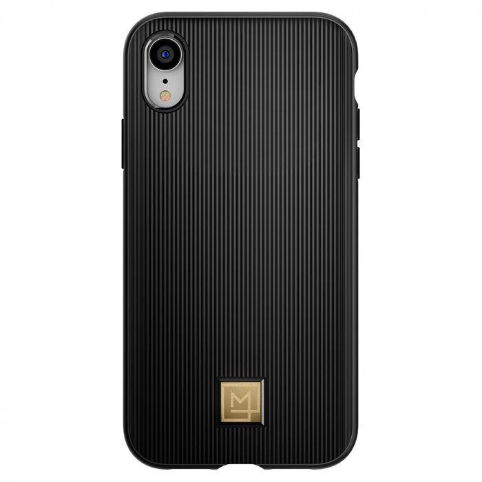 Carcasa iPhone XR Spigen La Manon Classy Black