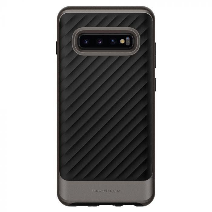 Carcasa Samsung Galaxy S10 Plus G975 Spigen Neo Hybrid Gunmetal