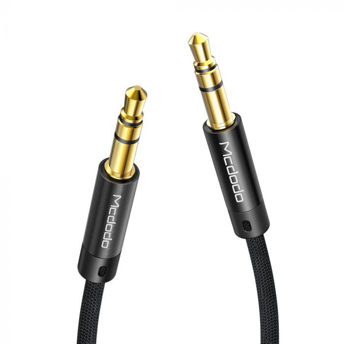 Cablu Jack 3.5mm la Jack 3.5mm Mcdodo Audio Black