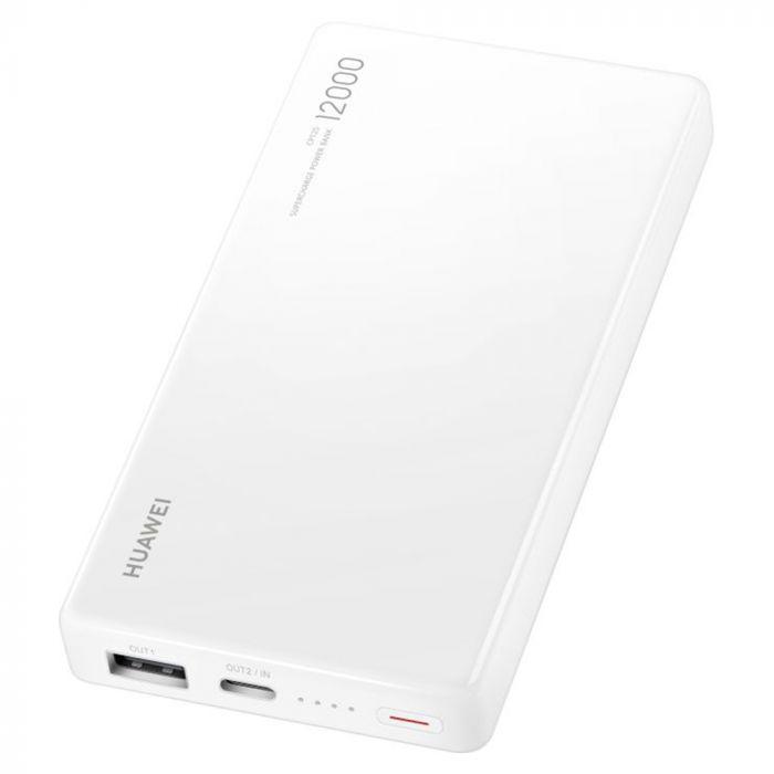 Power Bank Huawei Super Charge White 12.000 mAh, 40W