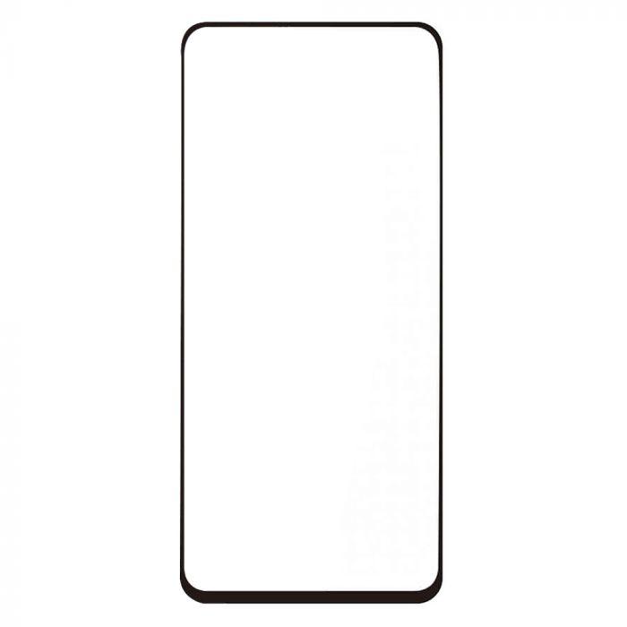 Folie Samsung Galaxy A80 / A90 Lemontti Sticla Full Fit Black