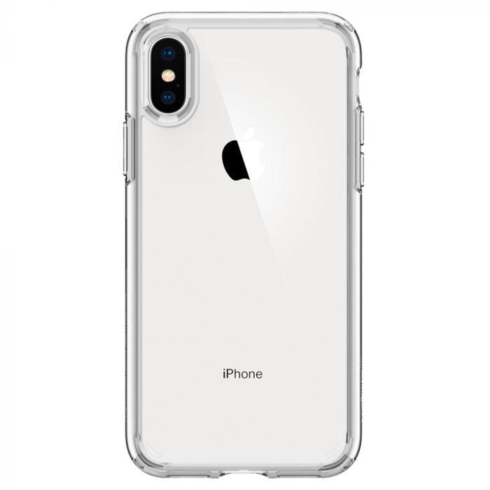 Carcasa iPhone XS / X Spigen Ultra Hybrid Crystal Clear
