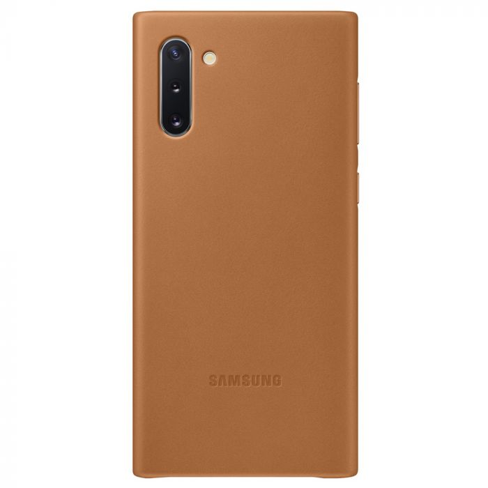 Carcasa Samsung Galaxy Note 10 Samsung Leather Cover Camel