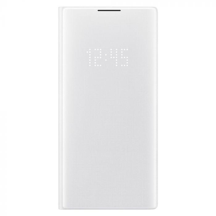 Husa Samsung Galaxy Note 10 Plus Samsung Book Led View White