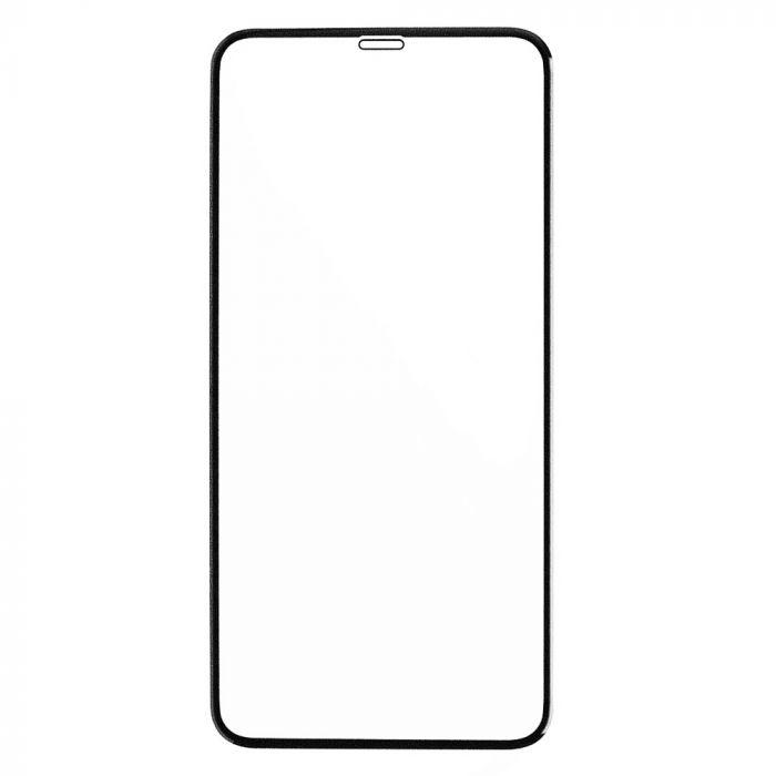 Folie iPhone 11 Pro Max / Xs Max Eiger Sticla Curbata 3D Clear Black