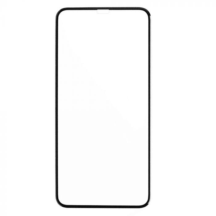 Folie iPhone 11 / XR Lemontti Sticla Full Fit Black