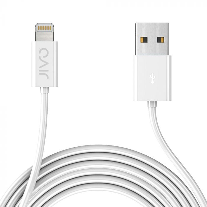 Cablu MFI Lightning Jivo USB White