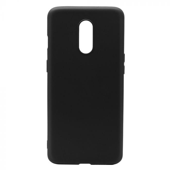 Husa OnePlus 7 Lemontti Silicon Silky Negru
