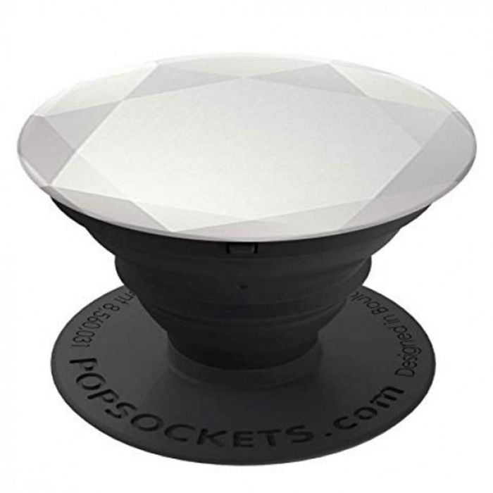 Suport Popsockets PopGrip Premium Stand Adeziv Diamond Medallion Gold Silver