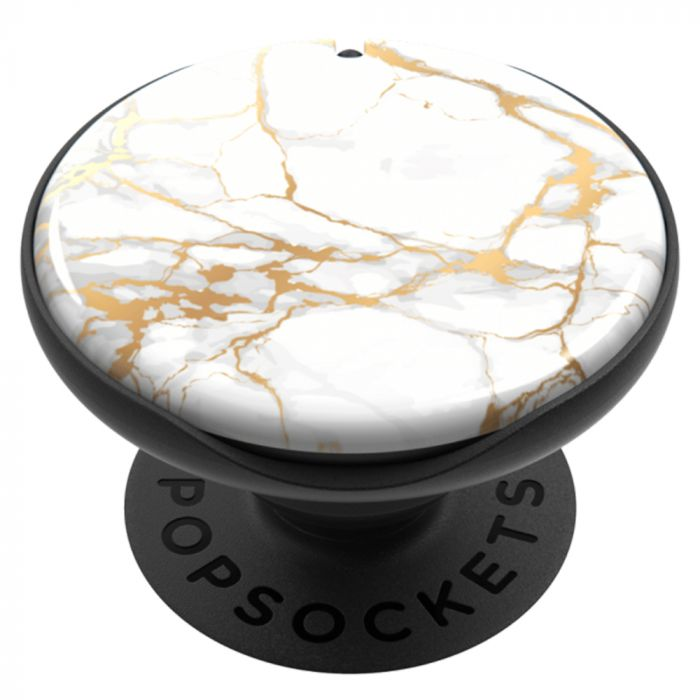 Suport Popsockets PopMirror Stand Adeziv Stone Marble Gloss