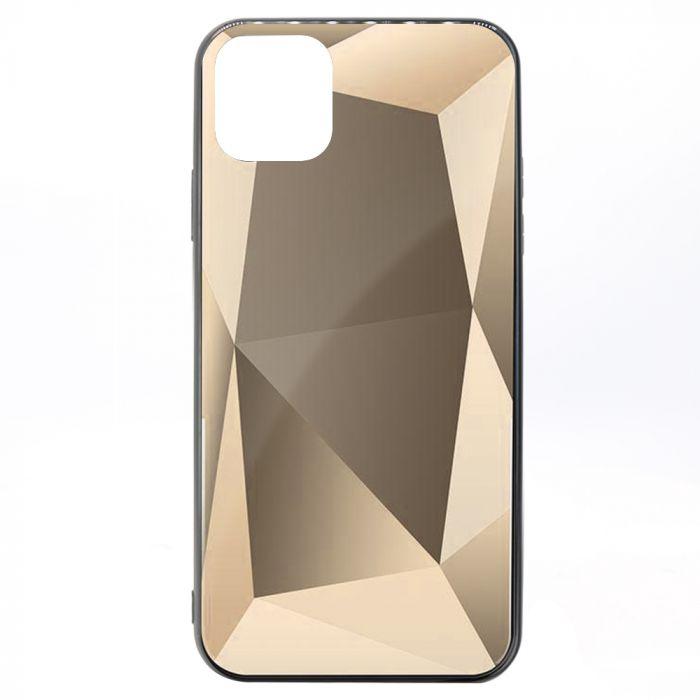 Carcasa iPhone 11 Pro Max Meleovo Glass Diamond Gray